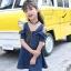 เดรสเด็กโตผ้ายีนส์เปิดไหล่ มีซิปด้านหน้า งานสวยสุดๆสามารถใส่ได้บ่อย สวยเท่ห์ดูดีค่ะ thumbnail 2