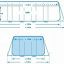 INTEX Regular Prism Frame ขนาด13 ฟุต 4x2x1m.เครื่องกรองทราย thumbnail 5