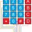 4x4 Matrix 16 Keypad Keyboard Module 16 Button thumbnail 2