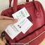 Anello กระเป๋าเป้ สะพายหลัง รุ่น Pu Rucksack Mini แท้100% สีแดงไวร์ thumbnail 5