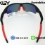 แว่นตาปั่นจักรยาน Oakley RadarLock [สีดำ-แดง] thumbnail 5