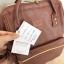 Anello กระเป๋าเป้ สะพายหลัง รุ่น pu rucksack mini แท้100% สีน้ำตาล thumbnail 6