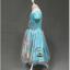 ชุดกระโปรงแขนตุ๊กตาสีฟ้า ลายเจ้าหญิง Frozen Elsa&Anna งานสวยใส่แล้วน่ารักมากค่ะ thumbnail 2
