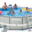INTEX สระอัลทร้าเฟรม 14 ฟุต (427x107 ซม.) Complete Set thumbnail 1
