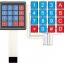 4x4 Matrix Membrane Keypad thumbnail 1