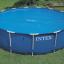 INTEX สระเมทัลเฟรม 15 ฟุต(457X122 ซม.) เครื่องกรองระบบไส้กรอง Complete set thumbnail 4