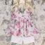 ชุดเซ็ทสาวน้อย เสื้อสายเดี่ยวลายดอกกุหลาบ + กางเกงสีขาวใส่คู่กันลงตัวมาก ผ้าใส่สบายมากค่ะ thumbnail 1