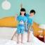 ชุดนอนเด็กโตสีฟ้า ลายโดเรมอน ชุดแขนสั้นขาสั้น ผ้าดีใส่สบายน่ารักมากๆค่ะ thumbnail 2