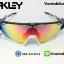 แว่นตาปั่นจักรยาน Oakley Jawbreaker [สีดำใส-ขาว] thumbnail 2