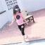 ชุด set เสื้อแขนสั้นสีชมพู สกรีน High five + กางเกงสีดำ ผ้าบางไม่หนาใส่สบายๆค่ะ thumbnail 2