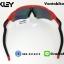 แว่นตาปั่นจักรยาน Oakley Radar EV [สีแดง-ดำ] thumbnail 4