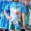 ชุดว่ายน้ำบอดี้สูทเด็กหญิงลายเจ้าหญิงหิมะ Frozen สีฟ้า+หมวก มีซิบหลังใส่สบายน่ารักมากๆ เลยค่ะ thumbnail 1