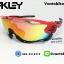 แว่นตาปั่นจักรยาน Oakley Jawbreaker [สีแดง-ดำ] thumbnail 1