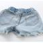 ชุดเซ็ทเสื้อสีขาว+กางเกงยีนส์ผ้านิ่มเอวยางยืด แต่พู่ๆที่ขอบของกางเกง น่ารักใส่สบายค่ะ thumbnail 4
