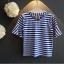 ชุดเสื้อ+กระโปรงสีขาว แต่งระบายพริ้วๆ เป็นชั้นๆ เอวยางยืด เป็นเซตที่น่ารักมากๆเลยค่ะ thumbnail 3