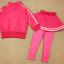 ชุดเซ็ทเด็กสีชมพู 2 ชิ้น เสื้อแขนยาวซิปหน้า+กางเกงเลกกิ้งขายาว แบบเข้าชุดใส่แล้วน่ารักเท่ห์สุดๆค่ะ thumbnail 2