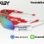 แว่นตาปั่นจักรยาน Oakley RadarLock [สีแดง] thumbnail 3