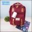 กระเป๋าเป้สะพายหลัง Doughnut macaroon คลาสสิค -สีแดงไวร์-
