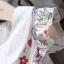 ชุดเดรสคุณหนูสีขาวสไตล์หวาน ลายน่ารักสดใส ซิปหลังมีซับใน ดูเรียบง่ายใส่แล้วสวยน่ารัก ขายดีสุดๆค่ะ thumbnail 3