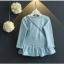 เสื้อแขนยาวสีฟ้า+กระเป๋า ชุดนี้เรียบๆแต่มีกระเป๋าสะพายทำให้ดูเก๋ขึ้น ใส่แล้วน่ารักสุดๆค่ะ thumbnail 2