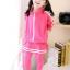 ชุดเซ็ทเด็กสีชมพู 2 ชิ้น เสื้อแขนยาวซิปหน้า+กางเกงเลกกิ้งขายาว แบบเข้าชุดใส่แล้วน่ารักเท่ห์สุดๆค่ะ thumbnail 4