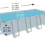 INTEX สระสี่เหลี่ยมอัลทร้าเฟรม 24 ฟุต ระบบน้ำเกลือ-ทราย thumbnail 10
