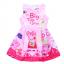 เดรสสาวน้อย Peppa Pig เจ้าหญิงหมูน่ารัก (สีชมพู) ซิปหลังใส่แล้วน่ารักมากค่ะ thumbnail 1