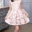 เดรสกระโปรงสีชมพู ลายน่ารักสดใส กระโปรงบานระบายกำลังดี ซิปด้านหลัง งานดีสวยมากค่ะ thumbnail 2