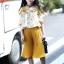 ชุดเซ็ทสาวน้อย เสื้อสายเดี่ยว+กางเกงอัดพลีท ชุดนี้สุดชิล ใส่แล้วพริ้วสวยน่ารักมากค่ะ thumbnail 2