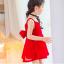 เดรสกระโปรงสีแดง ลุคคุณหนูไฮโซ สีแดงโดดเด่นใส่แล้วสวยเริ่ด มีโบว์ด้านหลังสุดเก๋ คุณภาพดีงานสวยค่ะ thumbnail 3