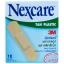 Nexcare TAN PLASTIC 3M เน็กซ์แคร์ พลาสเตอร์ พลาสติกสีเนื้อ บรรจุ 10ชิ้น/ซอง(72x19มม.)