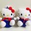 ตุ๊กตาคิตตี้ Hello Kitty ชุดกะลาสี ลิขสิทธิ์แท้ Sanrio thumbnail 2
