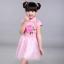 ชุดกี่เพ้าสีชมพูคอจีน กระโปรงผ้าโปร่ง ผูกโบว์ด้านหลัง ใส่วันตรุษจีนหรือใส่ไปเที่ยวน่ารักมากๆค่ะ thumbnail 2