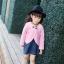 เซ็ทสาวน้อย 2 ชิ้น เสื้อคลุมคาร์ดิแกนสีชมพู + เดรสสีน้ำเงิน แบบใหม่งานสวยเก๋สุดๆ ใส่แล้วเริ่ด ดูดีมากค่ะ thumbnail 2