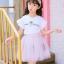 ชุดเซ็ทเด็กโต เสื้อสีขาว+กระโปรงสีชมพู น่ารักสดใส แบบเข้าชุด ใส่แล้วน่ารักมากค่ะ thumbnail 2