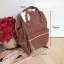 Anello กระเป๋าเป้ สะพายหลัง รุ่น pu rucksack mini แท้100% สีน้ำตาล thumbnail 3