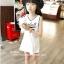 มินิเดรสเด็กหญิงสีขาว แขนกุด สกรีน BASEBALL 99 น่ารักมากค่ะ (ไซส์เล็กดูขนาดก่อนสั่งนะค่ะ) thumbnail 2