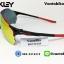 แว่นตาปั่นจักรยาน Oakley Radar EV ZERO [สีดำ-แดง] thumbnail 2