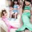 ชุดว่ายน้ำนางเงือกสีชมพู (3ชิ้น) เสื้อ,กางกางขาสั้น,กระโปรงหางนางเงือก ใส่แล้วน่ารักสุดๆค่ะ thumbnail 1