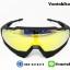 แว่นตาปั่นจักรยาน SPEED TRAP 100% [Black-Yellow] thumbnail 2