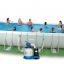 INTEX สระสี่เหลี่ยมอัลทร้าเฟรม 32 ฟุต ระบบน้ำเกลือ–ทราย thumbnail 2