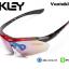 แว่นตาปั่นจักรยาน Oakley รุ่น A0089 [สีแดง-ดำ] thumbnail 1