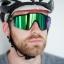 แว่นตาปั่นจักรยาน SPEEDCRAFT 100% [สีดำ-เขียว] thumbnail 7