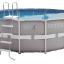 INTEX สระอัลทร้าเฟรม 16 ฟุต(488x122 ซม.) เครื่องกรองระบบทราย thumbnail 4