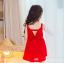 เดรสกระโปรงสีแดง ลุคคุณหนูไฮโซ สีแดงโดดเด่นใส่แล้วสวยเริ่ด มีโบว์ด้านหลังสุดเก๋ คุณภาพดีงานสวยค่ะ thumbnail 4