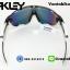 แว่นตาปั่นจักรยาน Oakley Jawbreaker [สีดำใส-ขาว] thumbnail 4