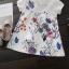 ชุดเดรสสาวน้อยแขนสั้น ลายดอกไม้และผีเสื้อ ชุดนี้เก๋สุดๆ ใส่แล้วน่ารักมากค่ะ thumbnail 7