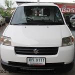 รถกระบะ รถมือสอง รถราคาถูก ยี่ห้อ Suzuki (ซูซุกิ แครี่) รุ่น Carry สีขาว ปี 2012 ขนาดเครื่อง 1.6 LPG ระบบเกียร์ M/T (เกียร์กระปุก) #UC110