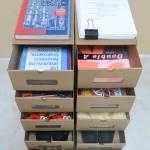 """กล่องรองเท้า อเนกประสงค์ กระดาษอิเกีย แข็งแรง ใส่กระดาษ A4, รองเท้าส้นสูง, เสื้อผ้า """"ไซส์ใหญ่"""" (10 กล่อง)"""