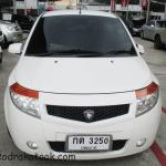 รถเก๋งมือสอง รถราคาถูก ยี่ห้อ Proton (โปรตรอน) รุ่น SAVVY สีขาว ปี 2010 AMT ระบบเกียร์ M/T (เกียร์กระปุก) #UC108